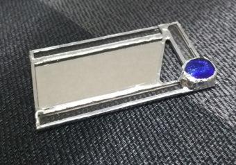 ステンドグラス手鏡